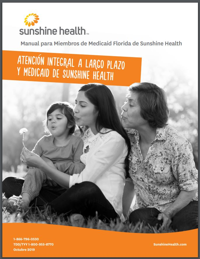 Sunshine Health Manual para Miembros de Medicaid